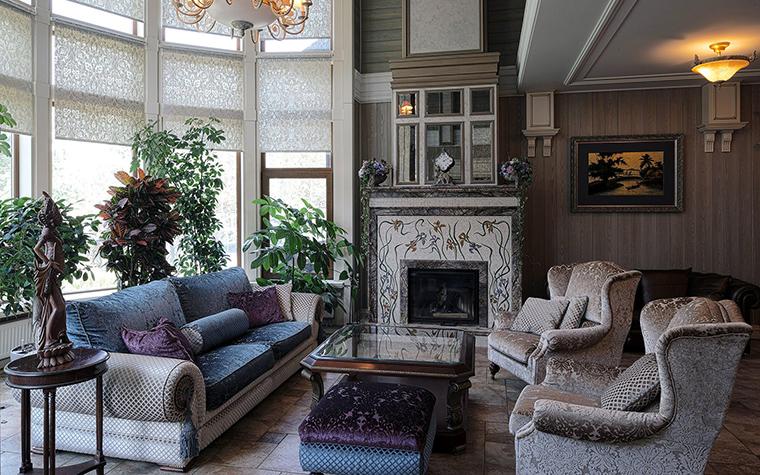 Фото № 51276 гостиная  Загородный дом