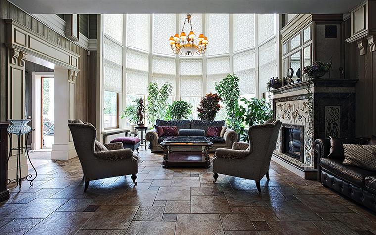 интерьер гостиной - фото № 51278