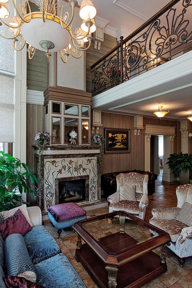 интерьер гостиной - фото № 51279