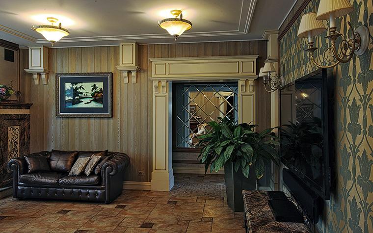Фото № 51280 гостиная  Загородный дом