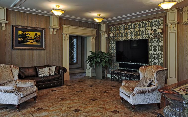 Фото № 51281 гостиная  Загородный дом