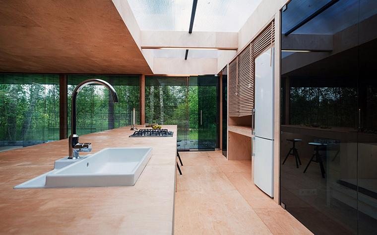 Загородный дом. кухня из проекта , фото №51864