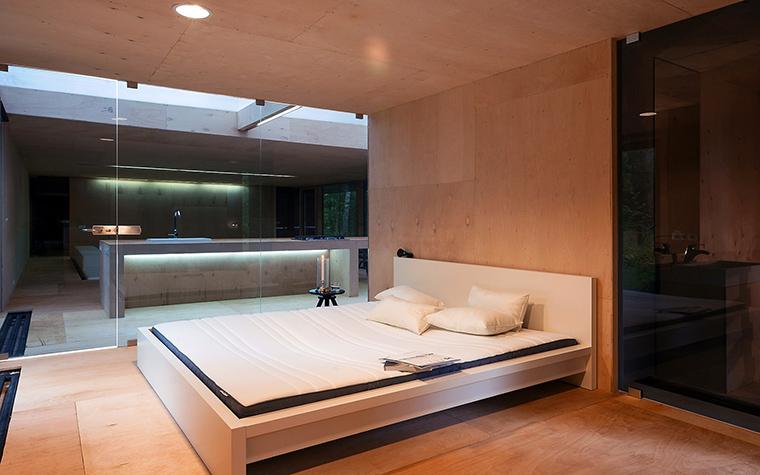 Загородный дом. спальня из проекта , фото №51870