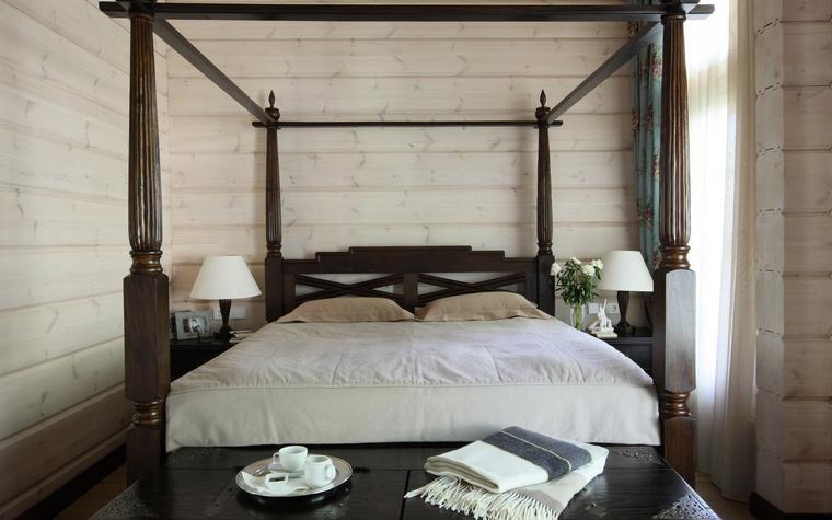 Фото № 52061 спальня  Загородный дом