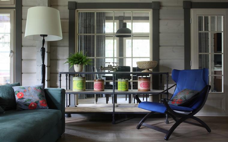 интерьер гостиной - фото № 52060