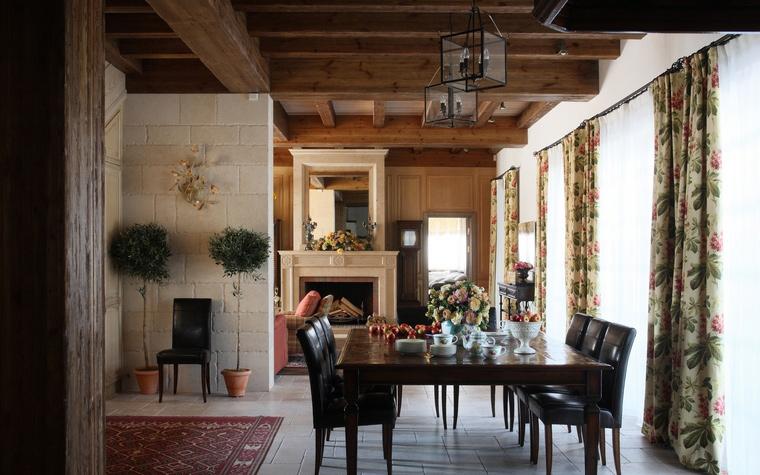 Загородный дом. столовая из проекта , фото №52139