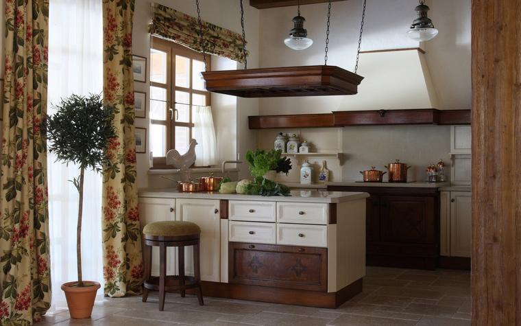 Фото № 52142 кухня  Загородный дом