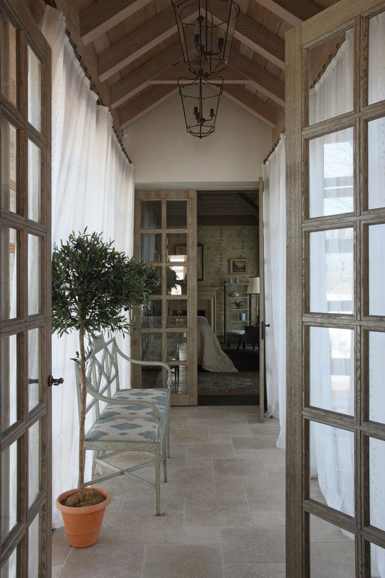 Загородный дом. холл из проекта , фото №52159