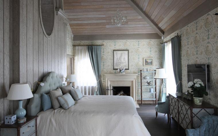 Загородный дом. спальня из проекта , фото №52143