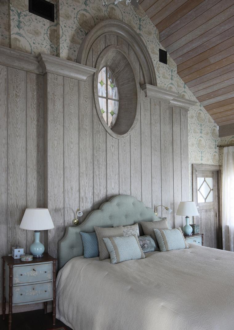 Загородный дом. спальня из проекта , фото №52145