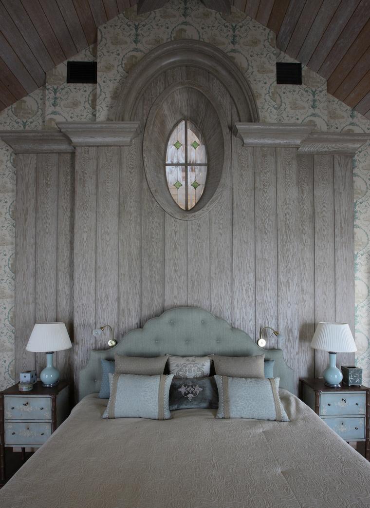Фото № 52146 спальня  Загородный дом