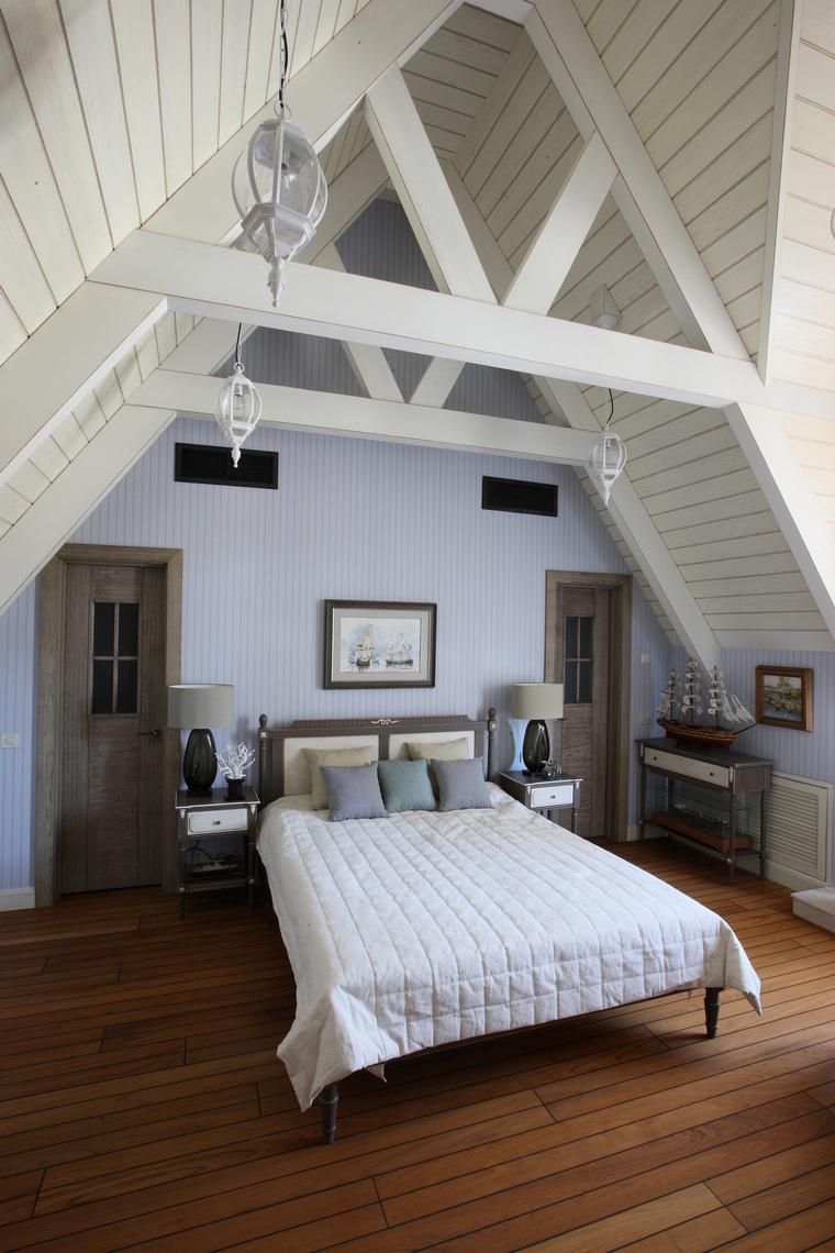 интерьер спальни - фото № 52150