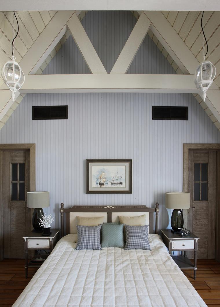 Фото № 52151 спальня  Загородный дом