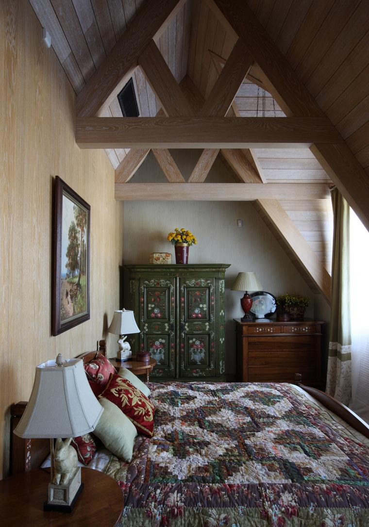 Загородный дом. спальня из проекта , фото №52152