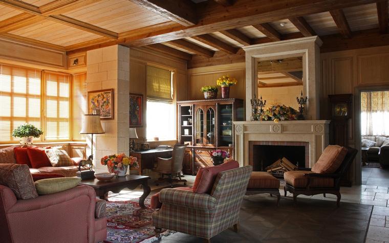 интерьер гостиной - фото № 52133