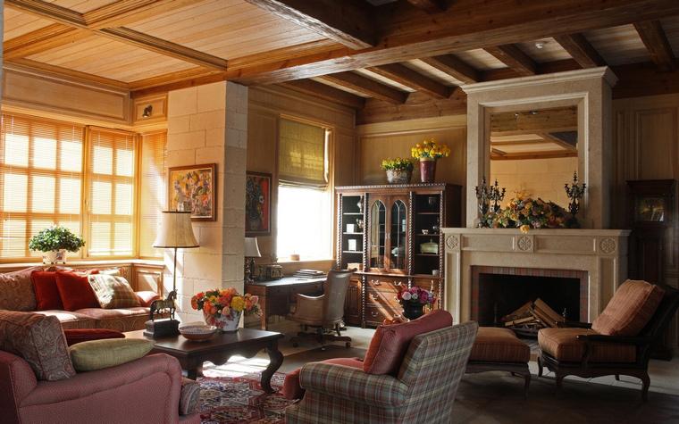 интерьер гостиной - фото № 52134