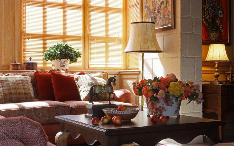 интерьер гостиной - фото № 52135