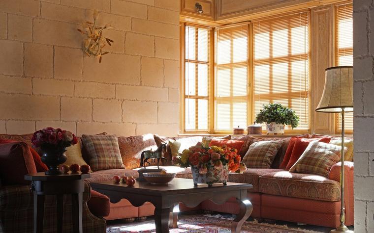 интерьер гостиной - фото № 52136