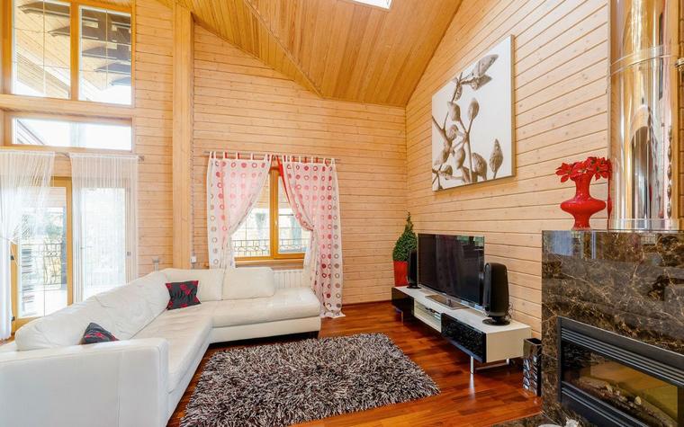 Фото № 52443 гостиная  Загородный дом