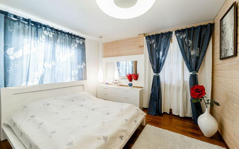Фото № 52455 спальня  Загородный дом