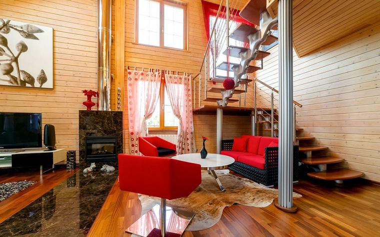 Фото № 52445 гостиная  Загородный дом