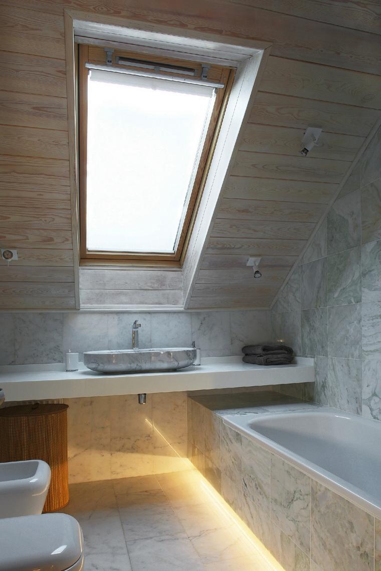 Фото № 53035 ванная  Загородный дом