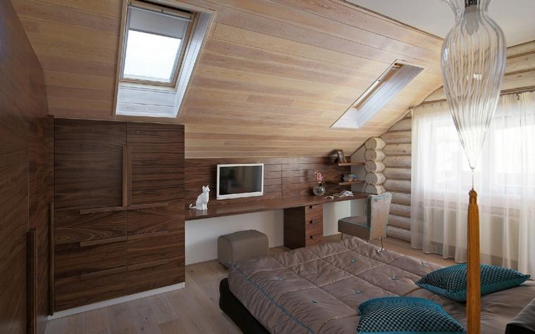 Фото № 53028 спальня  Загородный дом