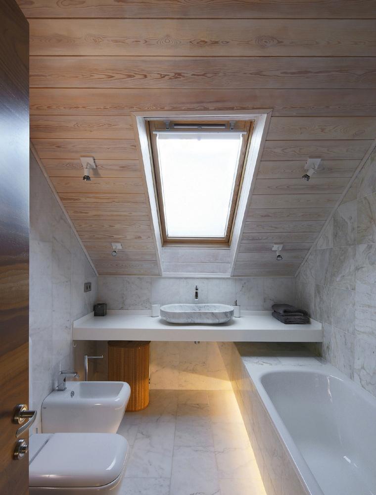 Фото № 53033 ванная  Загородный дом