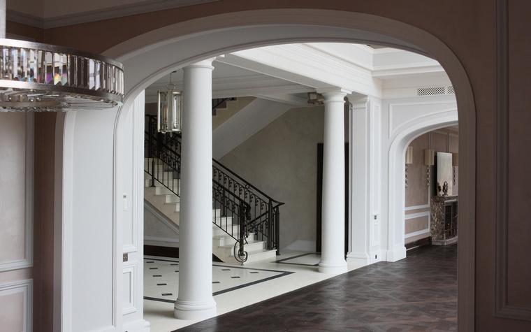 Загородный дом. холл из проекта , фото №53071