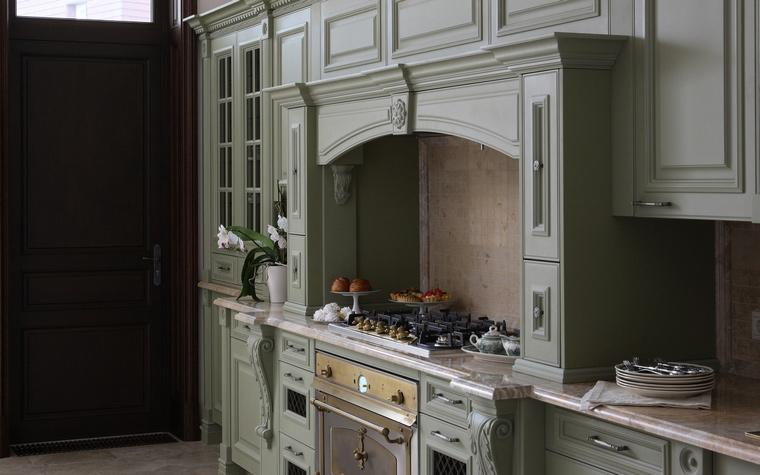 Фото № 53059 кухня  Загородный дом