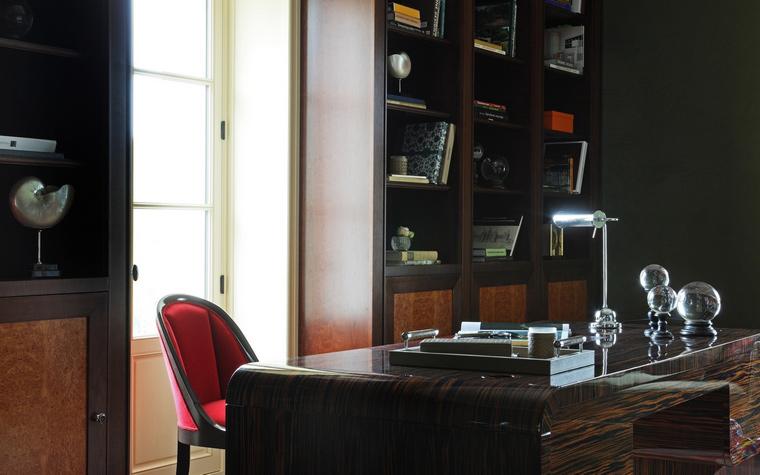 Фото № 53062 кабинет библиотека  Загородный дом