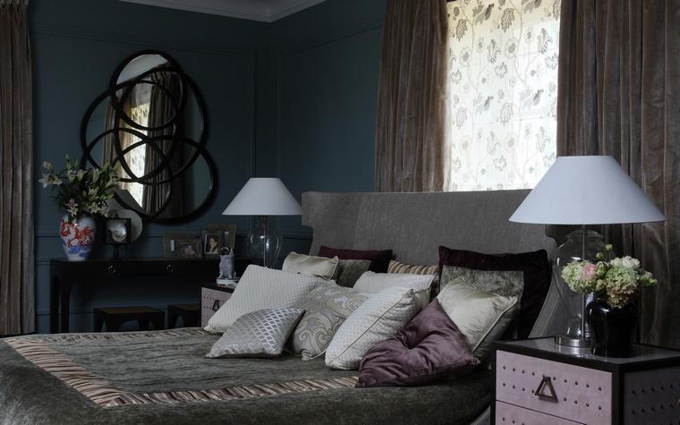 интерьер спальни - фото № 53063