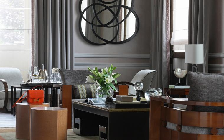 интерьер гостиной - фото № 53050