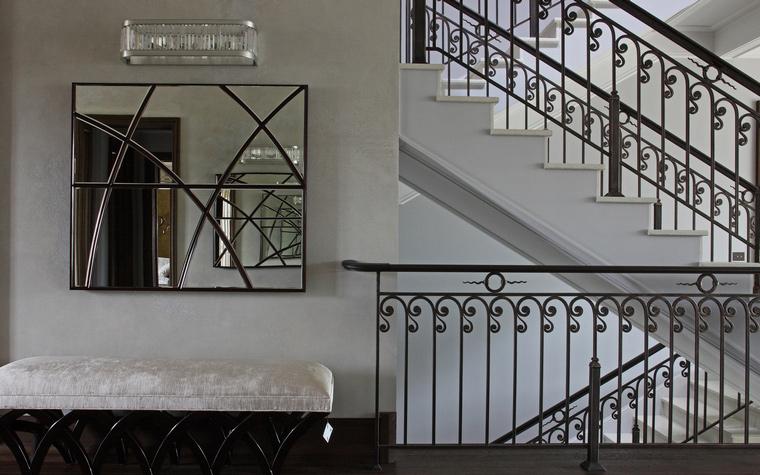 Загородный дом. холл из проекта , фото №53076