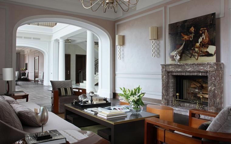интерьер гостиной - фото № 53045