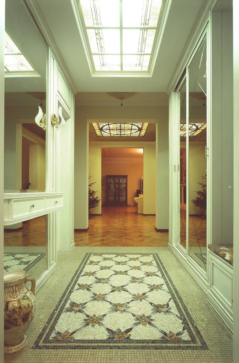 Загородный дом. холл из проекта , фото №53083