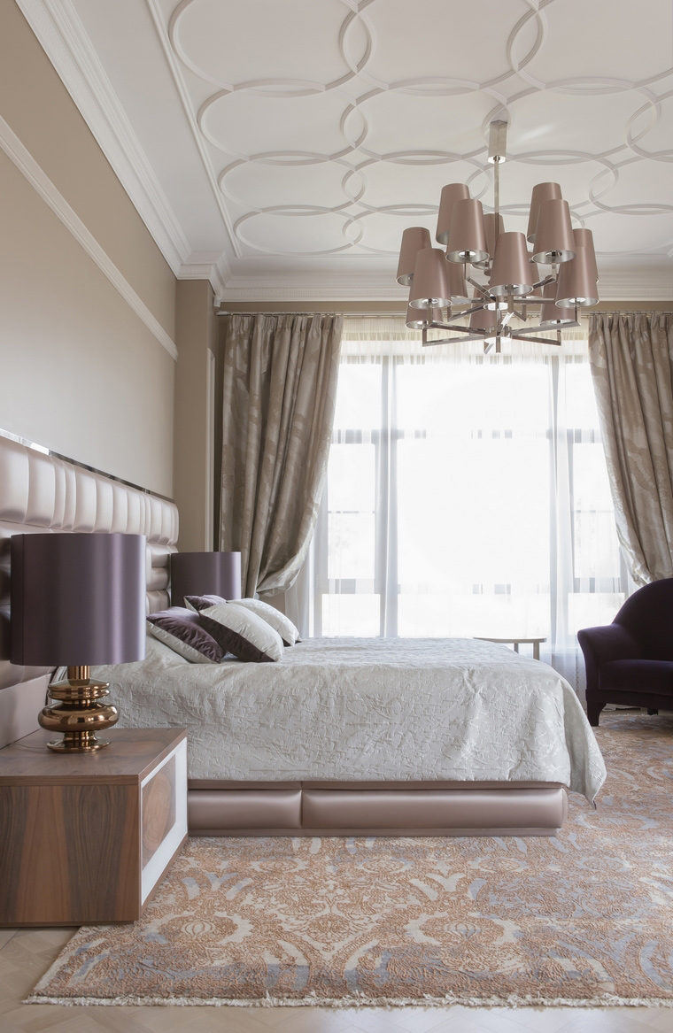 интерьер спальни - фото № 53314