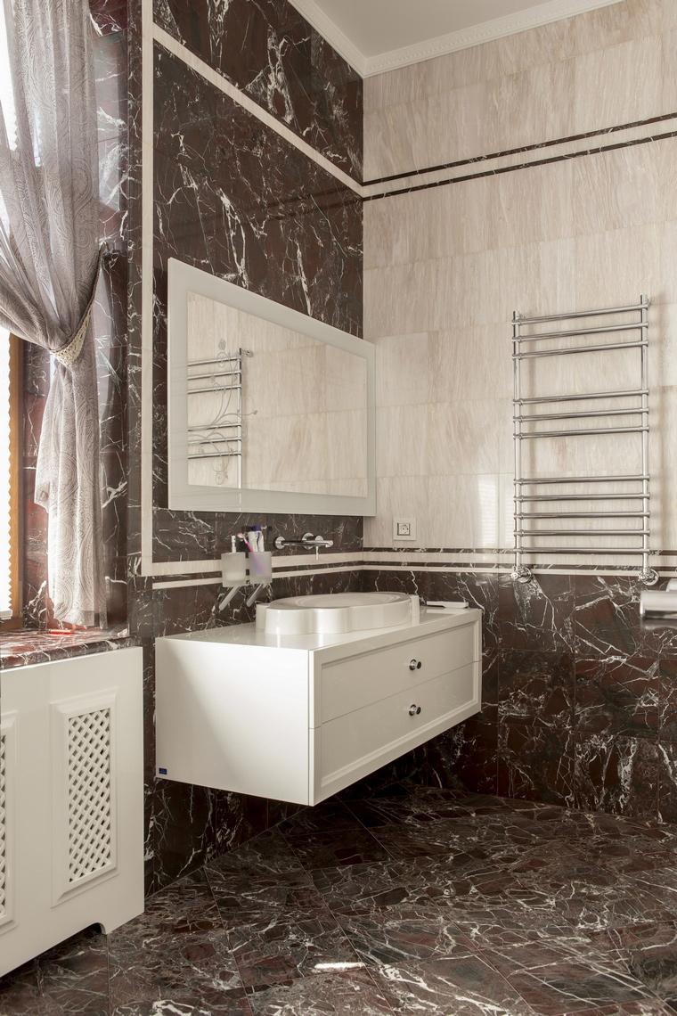 Фото № 53318 ванная  Загородный дом