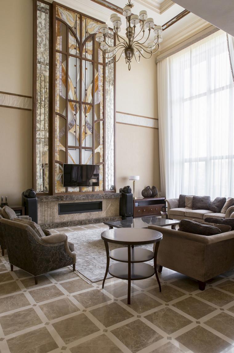интерьер гостиной - фото № 53302