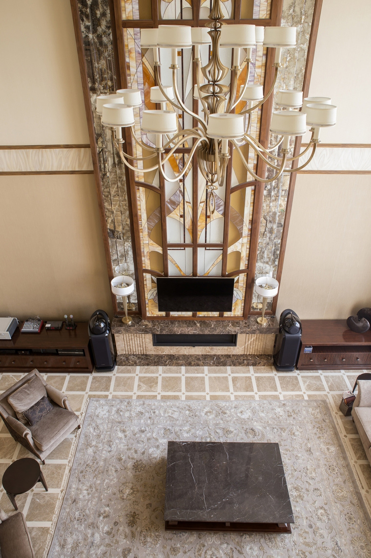 интерьер гостиной - фото № 53306