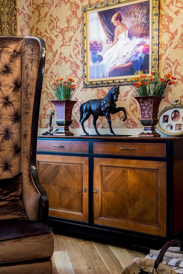 интерьер гостиной - фото № 53440