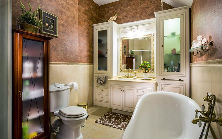Фото № 53442 ванная  Загородный дом