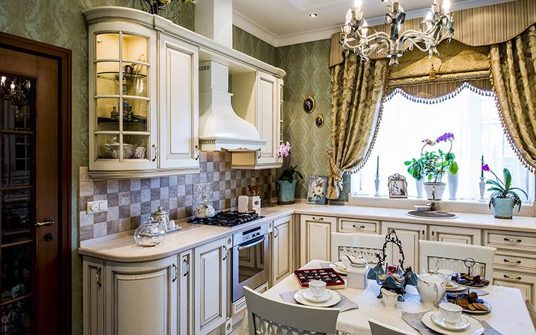 Фото № 53444 кухня  Загородный дом