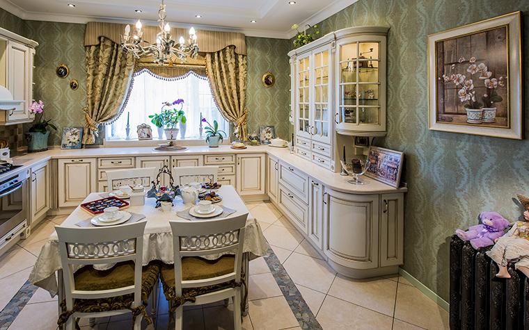 Фото № 53445 кухня  Загородный дом