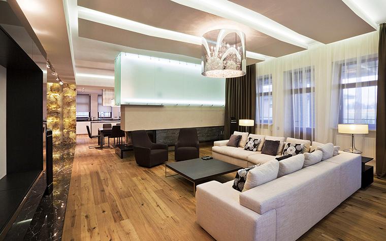 интерьер гостиной - фото № 53498