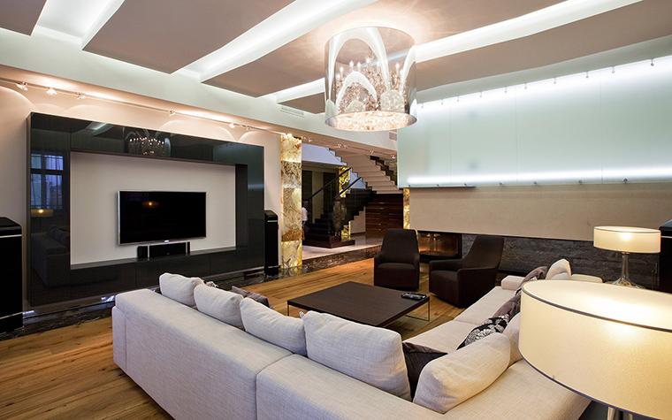 интерьер гостиной - фото № 53499