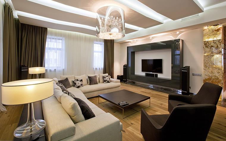 интерьер гостиной - фото № 53500