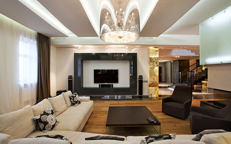 интерьер гостиной - фото № 53504