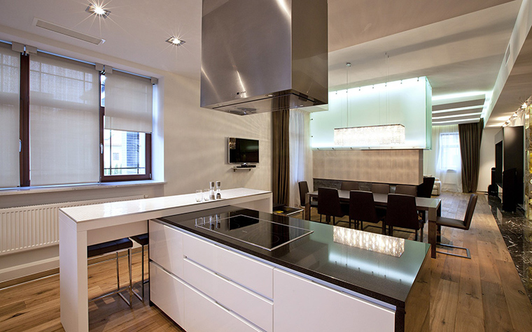Фото № 53523 кухня  Загородный дом