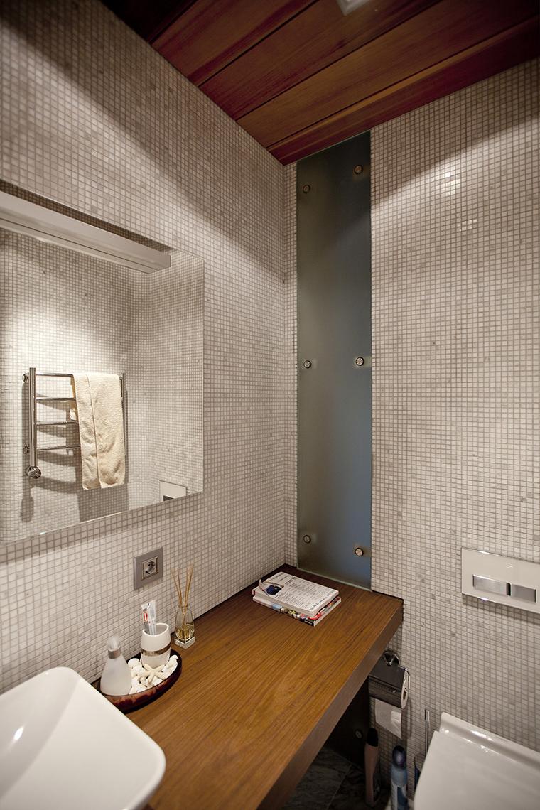 Фото № 53550 ванная  Загородный дом